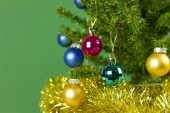 Christmas tree close up — Stock Photo