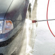 The process of washing the car — Stock Photo #75936615