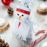 Snowman for Christmas — Stock Photo #58153187