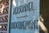 Personnel Procurement — Stock Photo