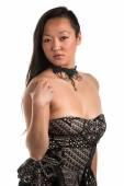 Strapless blouse — Stock Photo