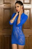 Blue camisole — Stock Photo