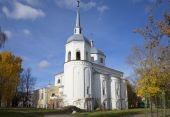 The Church of Nikita the Martyr in Veliky Novgorod — Foto Stock