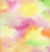 Abstract watercolor hand painted background. Textured paper. — Stock Photo