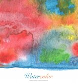 Abstract acrylic and watercolor painted background.Paper texture — Stockfoto