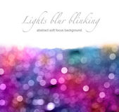 Abstract blur blinking background. Soft focus. — Stock Photo