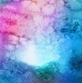 Abstract acrylic and watercolor painted background. Texture pape — Stock Photo