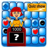Quiz show — Stock Vector