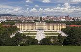 Schonbrunn palace ve vídni — Stock fotografie