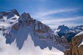 Dolomites Mountain in Winter, Italy — Stock Photo