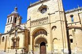 Katedral, ciudad rodrigo, salamanca, İspanya — Stok fotoğraf
