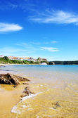 Vila Nova de Milfontes beach,south of  Portugal  — Stock Photo