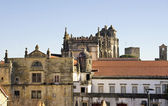 View of Palace of the Knights Templar , Tomar. Portugal  — Stock Photo