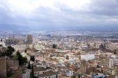 Cityscape  Church Cathedral, Granada Andalusia Spain. — Stock Photo