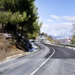 Mountain road, sierra nevada, Spain — Stock Photo #65738453
