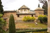Generalife gardens, Alhambra, Granada,Spain — Foto de Stock