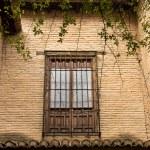 Window of the Moorish Palace at the Alhambra, Spain — Stock Photo #68632799