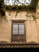 Window of the Moorish Palace at the Alhambra, Spain — Stock Photo