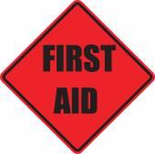 Знак скорой помощи — Стоковое фото