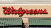 Walgreens Drug Store Sign — Stock Photo