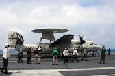 United States Navy E-2 Hawkeye — Stock Photo