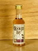 Bottle of Crooked Bay Rum — Stock Photo