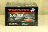 Box of Winchester  22 Long Rifle Bullets — Stock Photo
