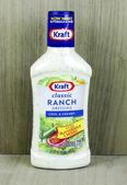 Bottle of Kraft Ranch Dressing — Stock Photo