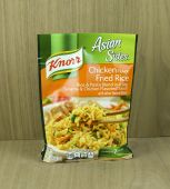 Bag of Knorr Chicken Flavor Rice noodle mix — Stock Photo