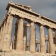 Parthenon - antique temple in Athenian Acropolis in Greece — Stock Video #52560381