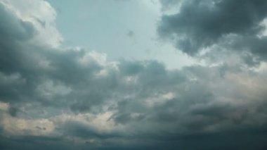 Fırtına bulutları timelapse — Stok video