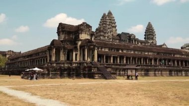 Angkor Wat temple — Stock Video