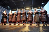 Mitglieder der volksgruppen sveta kata aus zemunik, während der 48. internationalen folklore-festival in zagreb kroatien — Stockfoto