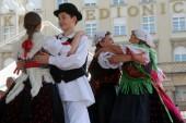 クロアチア ザグレブの 48 国際民俗祭の間に nedelisce から selacka sloga グループの民族のメンバー — ストック写真