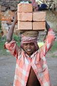 Brick field workers — Stock Photo