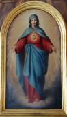 Sacred Heart of Mary — Stock Photo