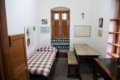 O antigo quarto de Madre teresa na casa da mãe em kolkata — Fotografia Stock