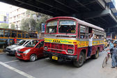 Kolkata bus — Stock Photo