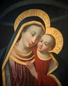 Madonna with child Jesus — Stock Photo