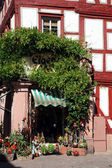Half-timbered old house in Miltenberg, Germany — Stockfoto