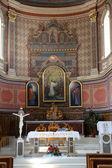 Main altar in the Church of St. Aloysius in Travnik, Bosnia and Herzegovina — Stock Photo