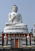 Buddhist temple in Howrah, West Bengal, India — Stock Photo