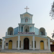 Catholic Church in Basanti, West Bengal, India — Stock Photo #52741187