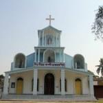 Catholic Church in Basanti, West Bengal, India — Stock Photo #52741253
