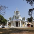 The Catholic Church in Basanti, West Bengal, India — Stock Photo #52754061