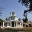 The Catholic Church in Basanti, West Bengal, India — Stock Photo #52754311