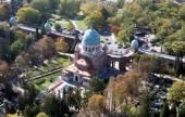 Mirogoj cemetery in Zagreb. Croatia — Stock Photo