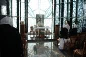 Mass in Chapel in Mother Teresa Memorial House in Skopje, Macedonia — Stock Photo