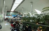Recreation area in International airport in Dubai, UAE — Stockfoto