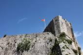 Old Budva city walls, Montenegro — Zdjęcie stockowe